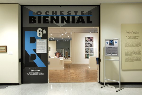 6th Rochester Biennial, Memorial Gallery Rochester, NY, July 13 - September 21, 2014