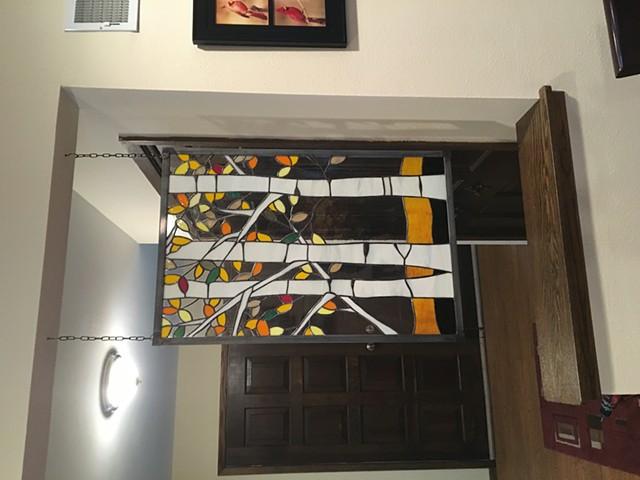 Hanging panel trees