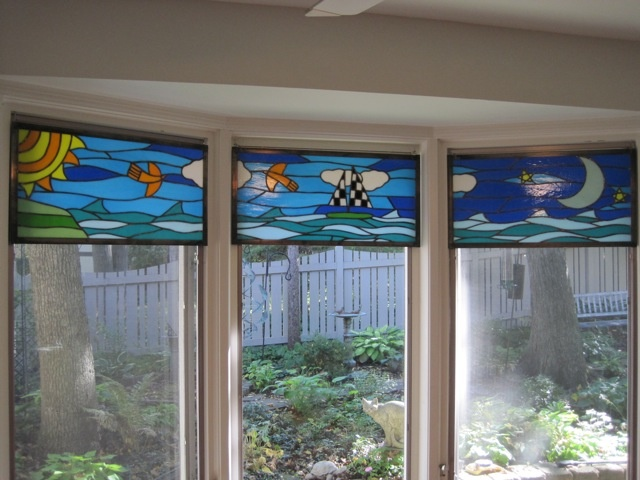 Whimsical Kitchen Windows