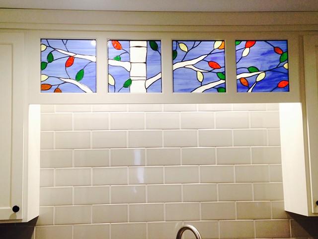 Kitchen tree Windows