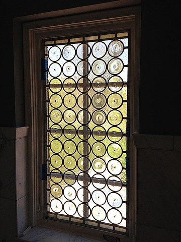 large rondel window