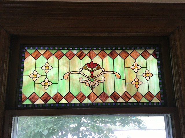 Transom that matches exsisting windows in an old home