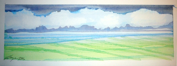 Azores Watercolors