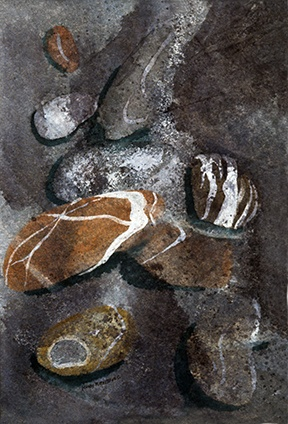Stones In Pool