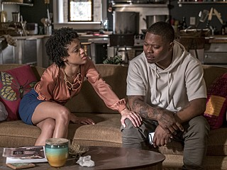 Tiffany Boone and Jason Mitchell