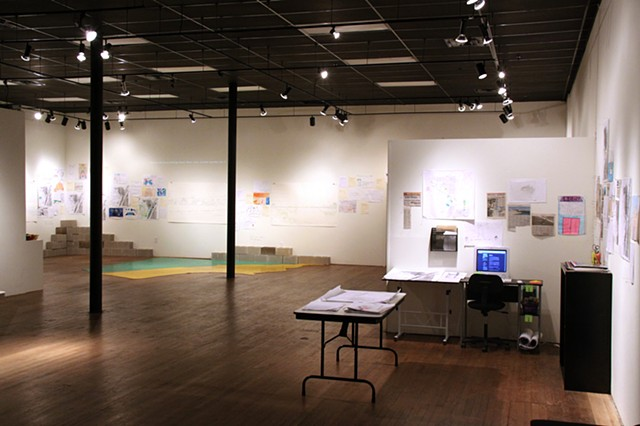 Corpitopia, installation view