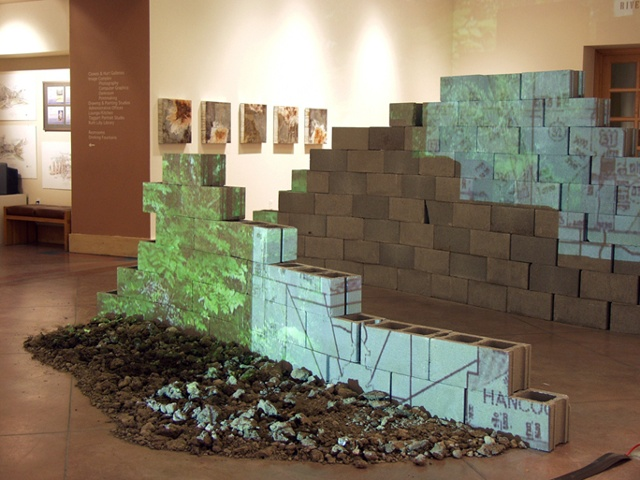 Flood/Margin, Part/Whole, Indianapolis Art Center, 2004.