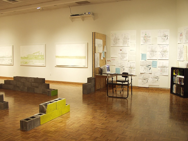 """Vision/Voice/Plan: Salina,"" Salina Art Center, Salina, Ks. 2009."