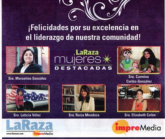 Mujer Destacada 2012