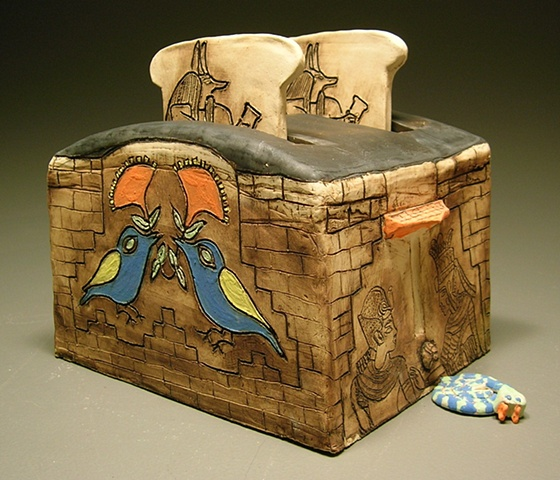 Egyptian Toaster  Fantasy Appliance Project