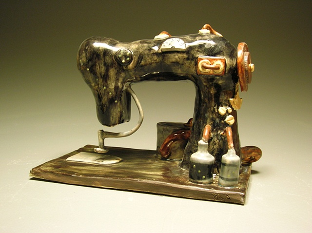 Steam Powered Sewing Machine  Fantasy Appliance Project