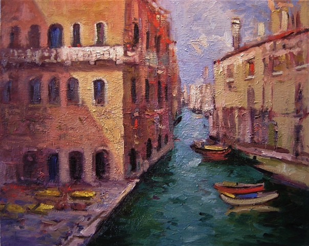 Pensione Seguso Venice, Venice, paintings of Venice, Paintings of Venice, Original artwork of Venice, Artwork of Venice, Venice paintings