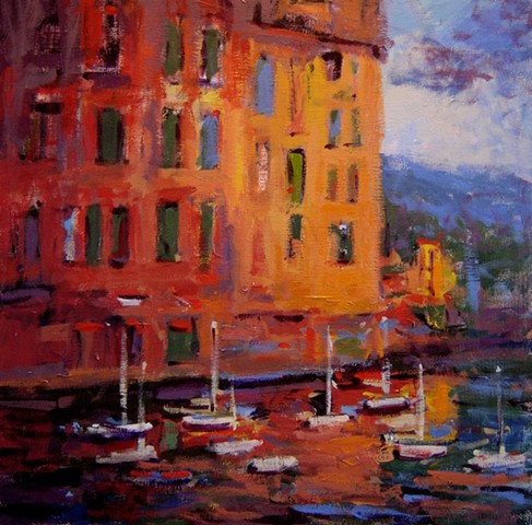 Light, Italy, Italian, Portofino, sunset, french and italian riviera