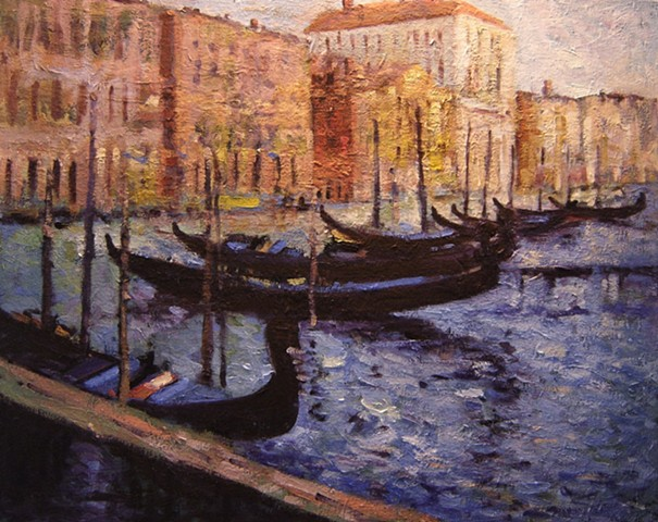 Boats and gondolas