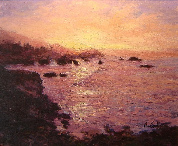 Shell Beach at sunrise (Sold)