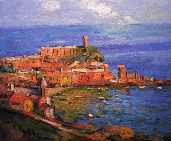 Vernazza, Paintings of Vernazza, Cinque Terre