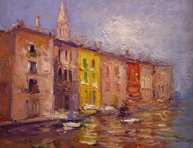 Waterfront in Rovinj R W Bob Goetting