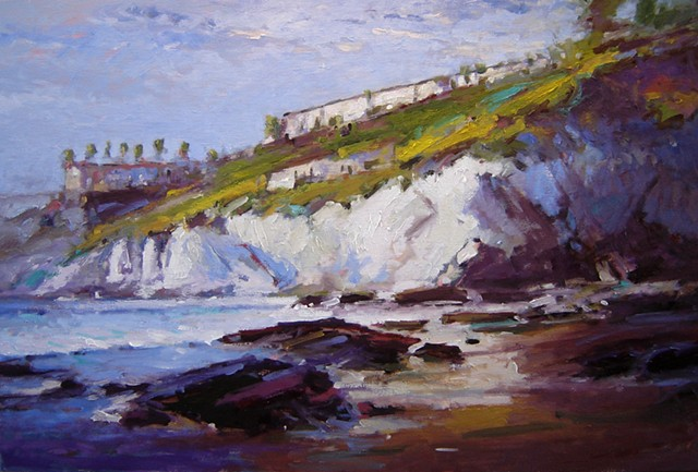 "Central California seascapes painted by R W ""Bob"" Goetting"