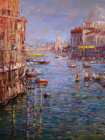 Regatta, Venice, Venetian, Paintings of Venice