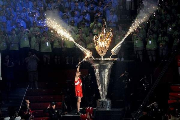 2010 Special Olympics National Games Cauldron