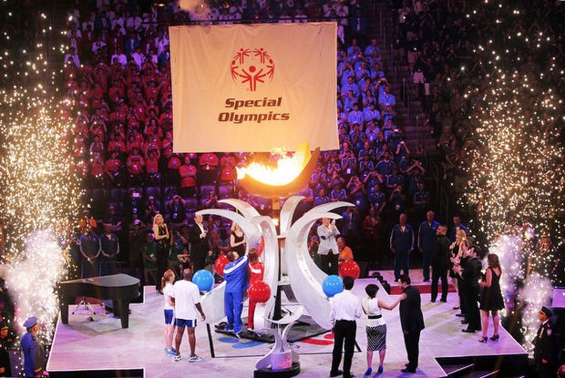 2014 National Special Olympics Cauldron