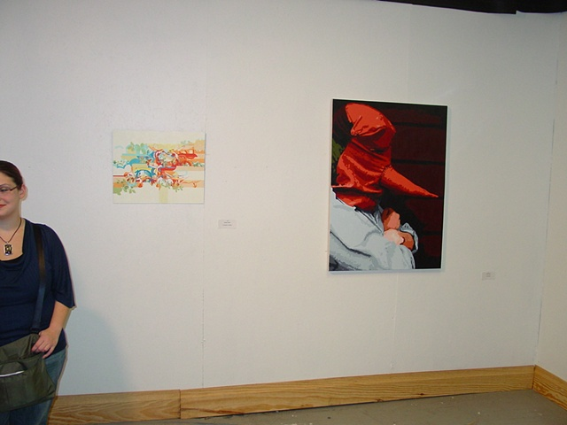Stealtharts exhibtion: UNO grads.