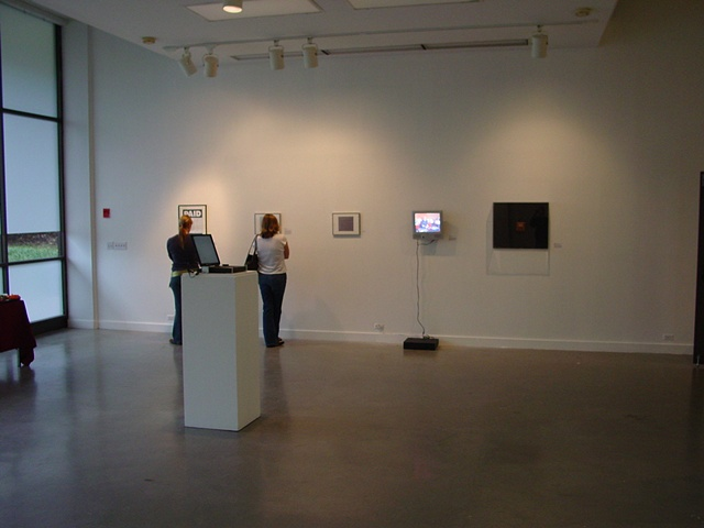 Information IN Formation, co-curated with Brett Levine, at UAB Visual Arts Gallery