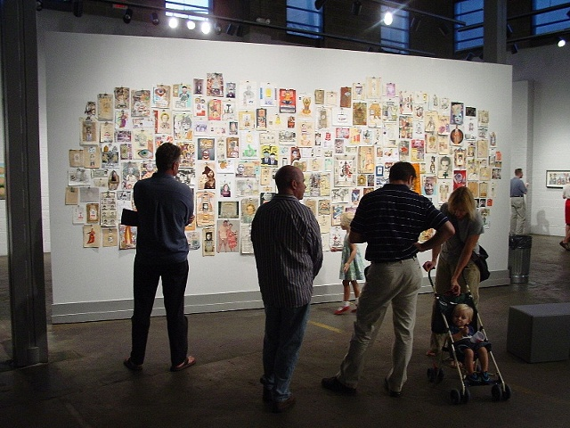 Art and Place 1: Place as Muse, Space 301 (Mobile's Centre for the Living  Arts), featuring works from Jen DeNike, Johannes Nyholm, Paul Slocum,  Jeremy Earhart, Tom Moody, BEIGE, Chris Lawson, and Bryce Speed, among others.