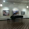 installation shot Eichold Gallery, Mobile, Alabama