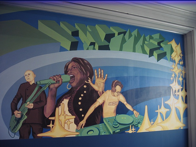 CCC mural-right side