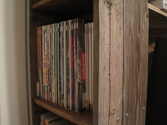 Record / Magazine shelf