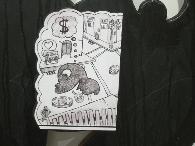 Money Monsters-middle detail