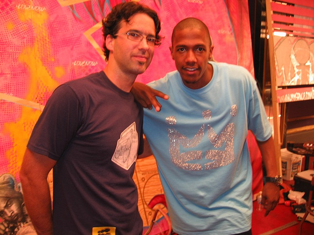 Myspace mural- Myself and Nick Cannon