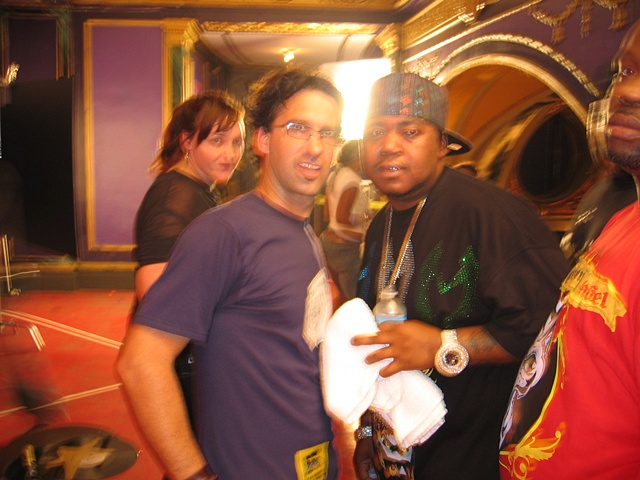 Myspace mural - Myself and Twista