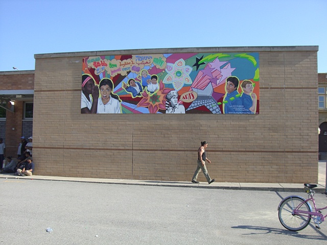 Boone Elementary School mural, Chicago, Ill.