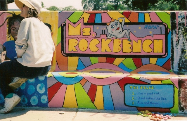 Ms Rock Bench