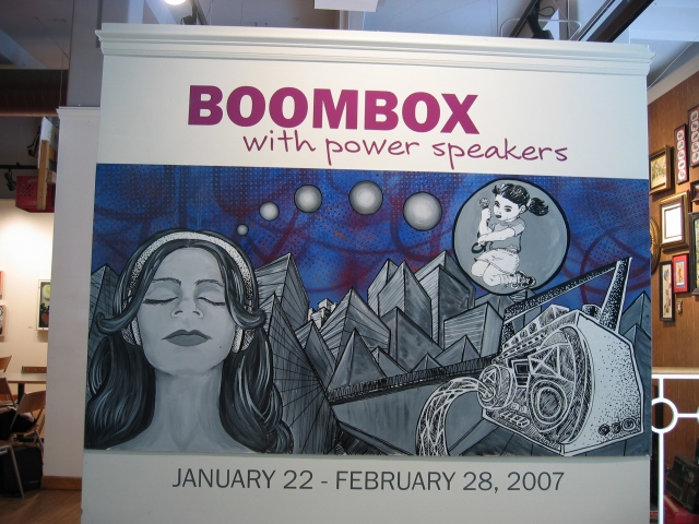 BOOMBOX entrance piece