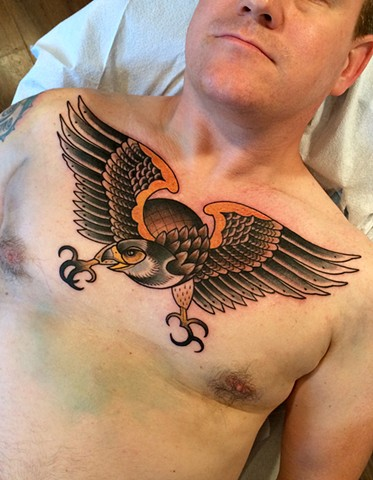 Eric bird tattoo