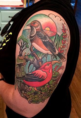 DAVE WAH - Tattoo Artist - Baltimore Maryland