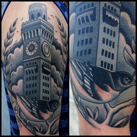bromo seltzer tower tattoo