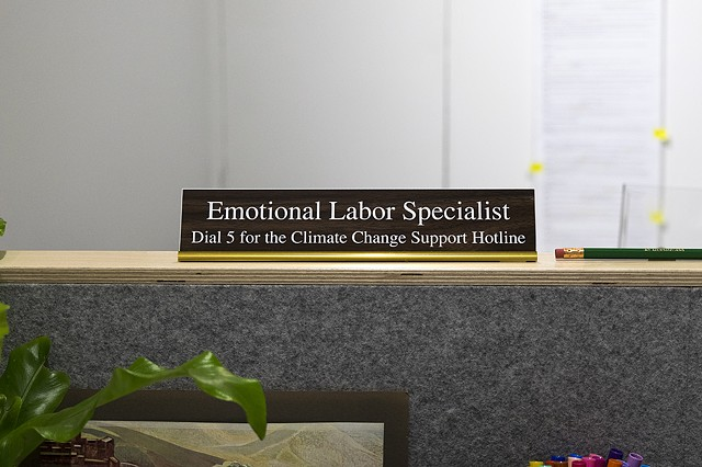 Emotional Labor Specialist, Climate Change Hotline