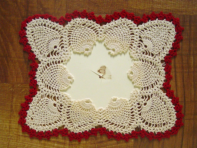 Undated (doily), 2007