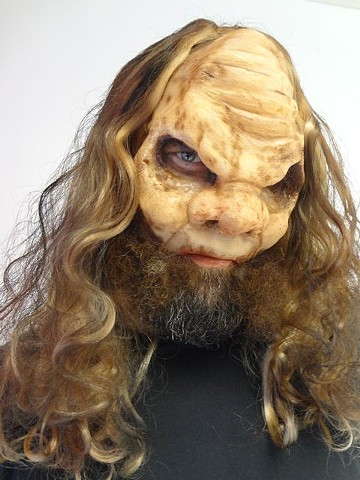 Silicone Full Face Cast Prosthetic