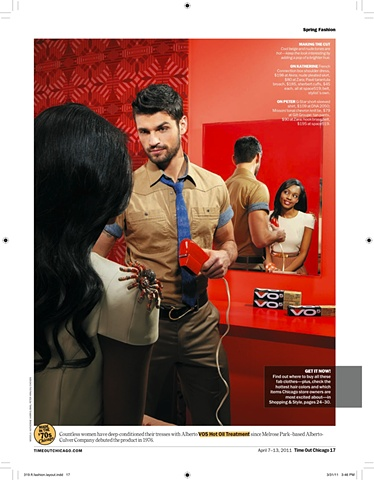 Time Out Chicago Spring Fashion Issue April 7-13, 2011