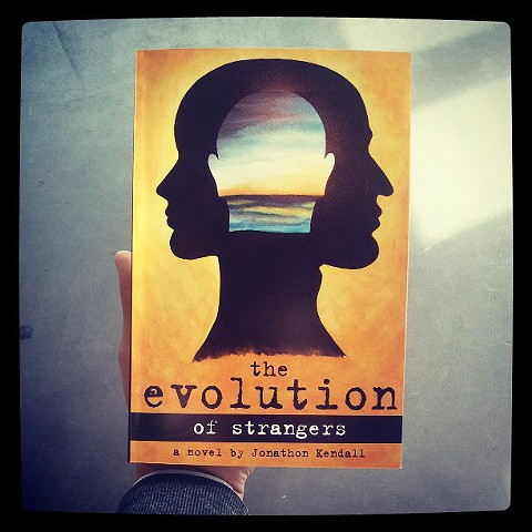 the evolution of strangers Book Cover