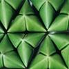 Green Stripe (detail)