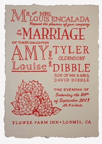 Tyler and Amy invite