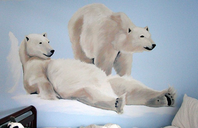 Polar Bears - Austen Mural