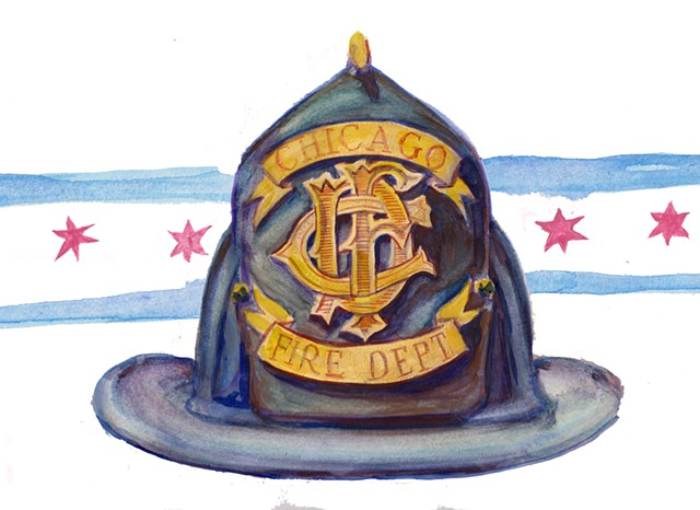 Chicago Firefighter Hat