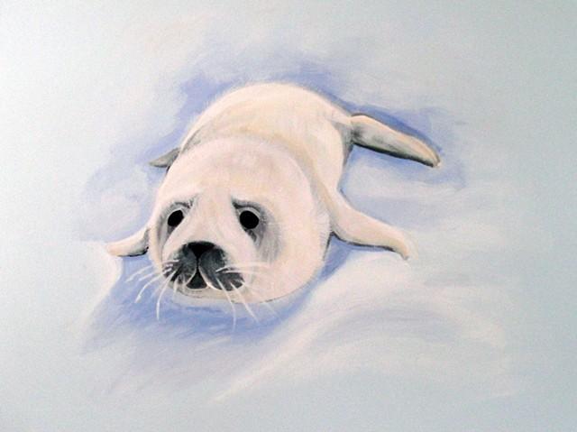 Baby Seal - Austen Mural